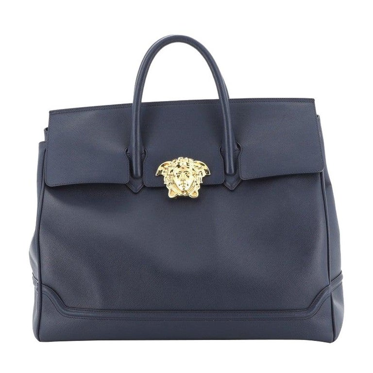 Versace Palazzo Empire Bag Leather XL For Sale