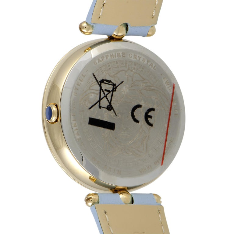 Versace Palazzo Empire Quartz Watch VECQ00918 In New Condition For Sale In Southampton, PA