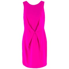 Versace Pink Gathered Mini Dress IT 42