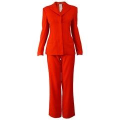 Versace Spring 1998 Vintage Womens Pant Suit
