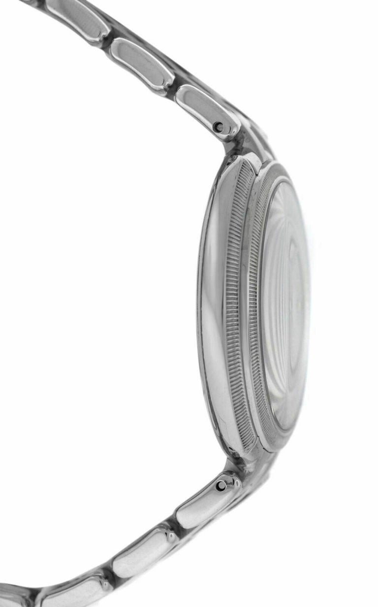 Versace THEA VA706/ 0013 Stainless Steel Quartz Watch In New Condition For Sale In New York, NY