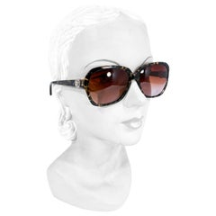 Versace Tortoise Pattern Sunglasses
