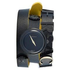 Versace V-Flare Black Double Wrap Watch VEBN00518