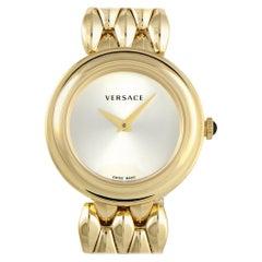 Versace V-Flare Gold-Plated Quartz Watch VEBN00718
