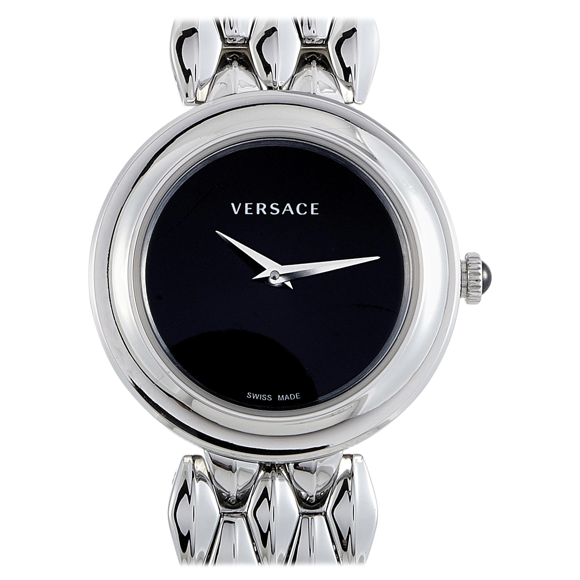 Versace V-Flare Stainless Steel Quartz Watch VEBN00618