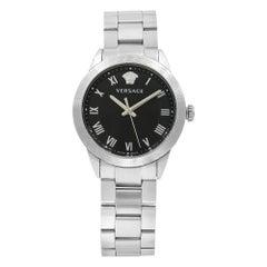 Versace V Sport Ornament Stainless Steel Quartz Ladies Watch P6Q99FD008S099