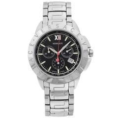 Versace V-Sport Stainless Steel Black Dial Quartz Men's Watch 12C99D009S099