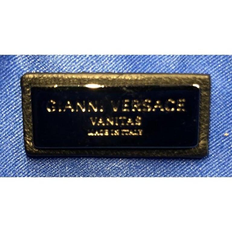 Versace Vanitas Crossbody Bag Barocco Leather 5