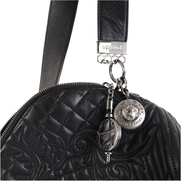 Versace Vanitas Crossbody Bag Barocco Leather 2