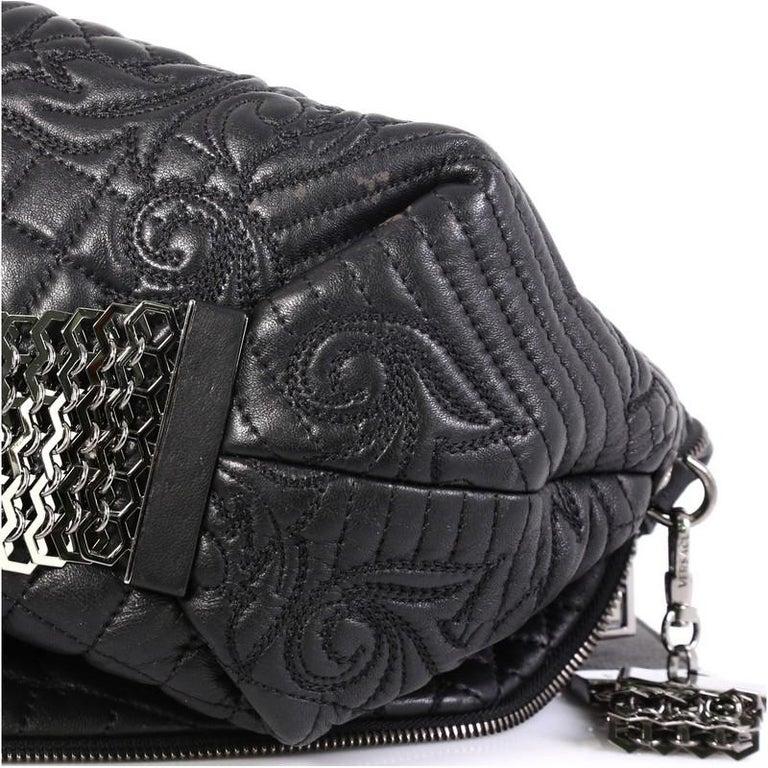 Versace Vanitas Crossbody Bag Barocco Leather 4