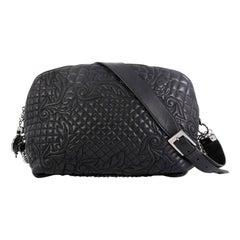 Versace Vanitas Crossbody Bag Barocco Leather