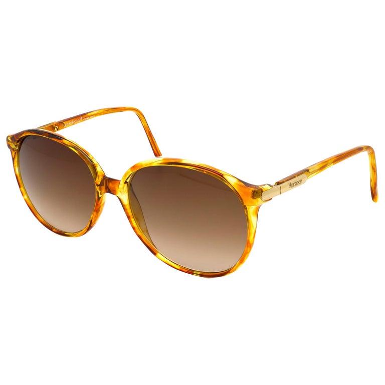Versace vintage sunglasses 80s For Sale