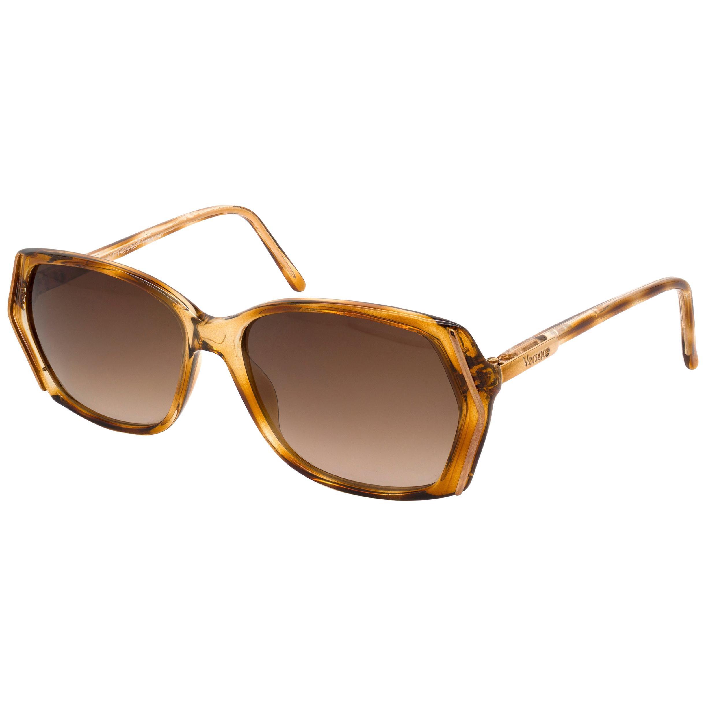 Versace vintage sunglasses 80s