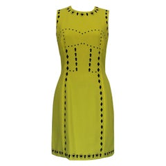 Versace Yellow Dress IT 42