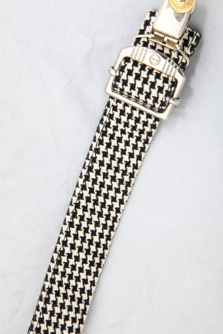 Women's or Men's Versace Young Suspenders with Medusa Motifs