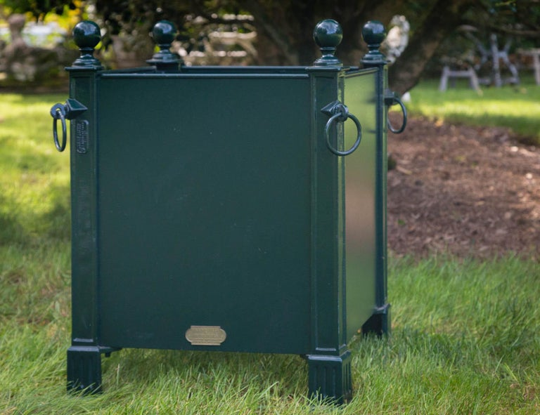 Versaille Green Planter Box For Sale 2