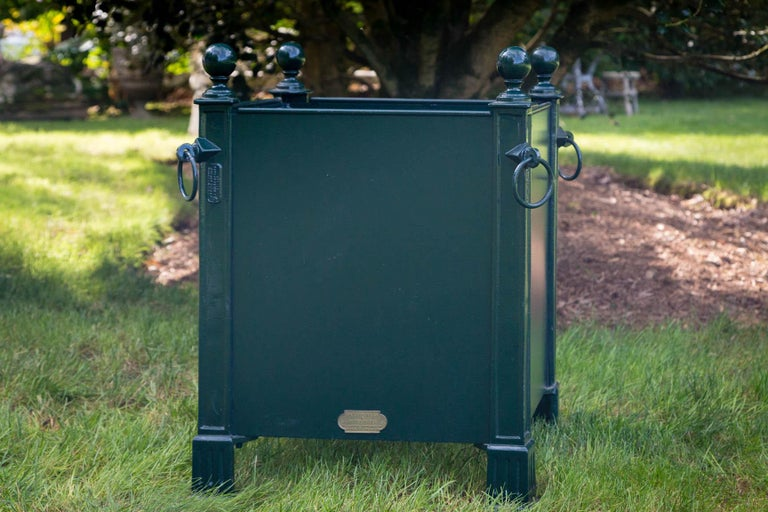 Versaille Green Planter Box For Sale 3