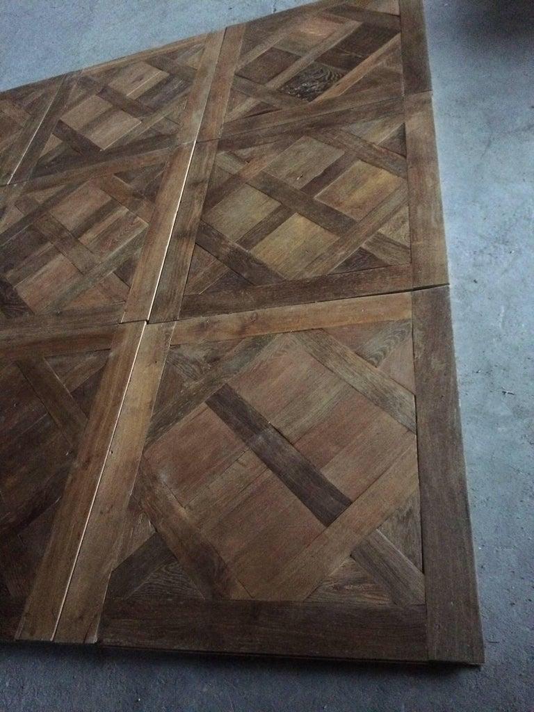 Versailles Antique Wood Oak Flooring 'Panels', Paris, France For Sale 3