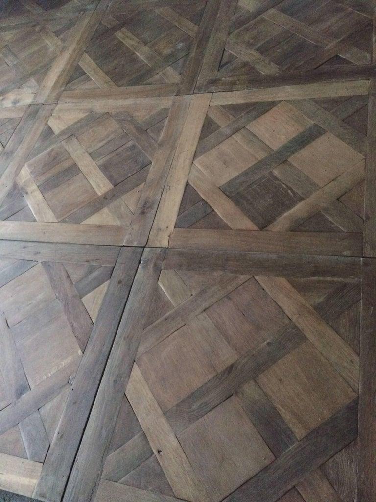 French Versailles Antique Wood Oak Flooring 'Panels', Paris, France For Sale