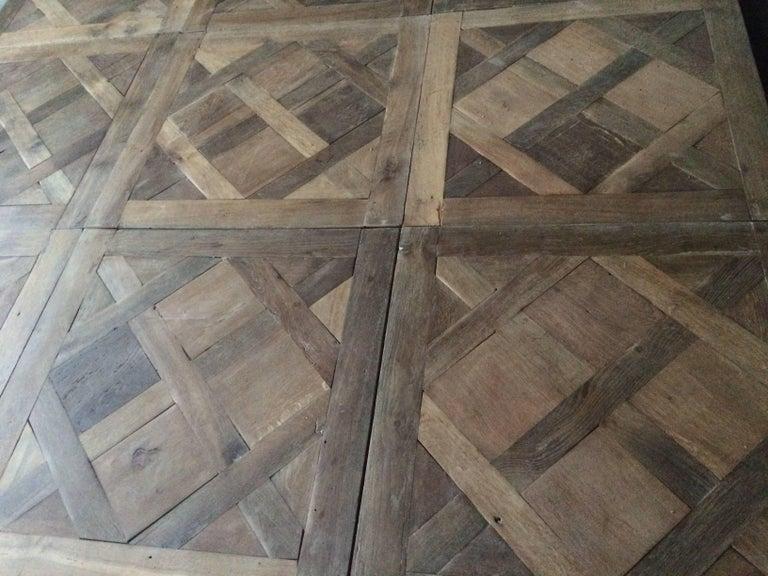 Versailles Antique Wood Oak Flooring 'Panels', Paris, France In Good Condition For Sale In LOS ANGELES, CA