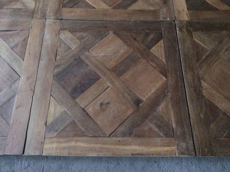 Versailles Antique Wood Oak Flooring 'Panels', Paris, France For Sale 1