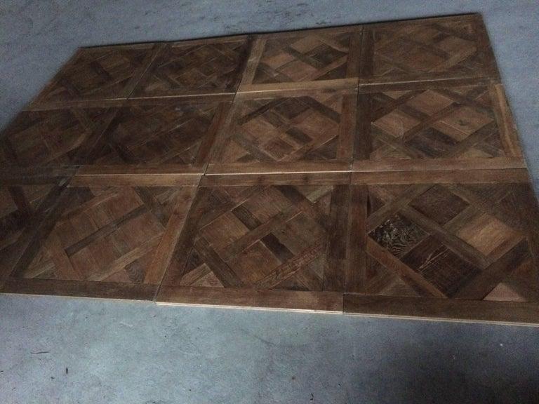 Versailles Antique Wood Oak Flooring 'Panels', Paris, France For Sale 2