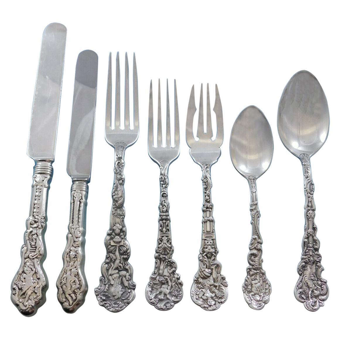 Versailles by Gorham Sterling Silver Flatware Service 12 Set 84 Pieces Dinner