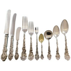 Versailles by Gorham Sterling Silver Flatware Service Set 374 Pcs Dinner Kirby