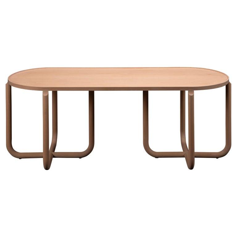 Verso Coffee Table, Beechwood For Sale