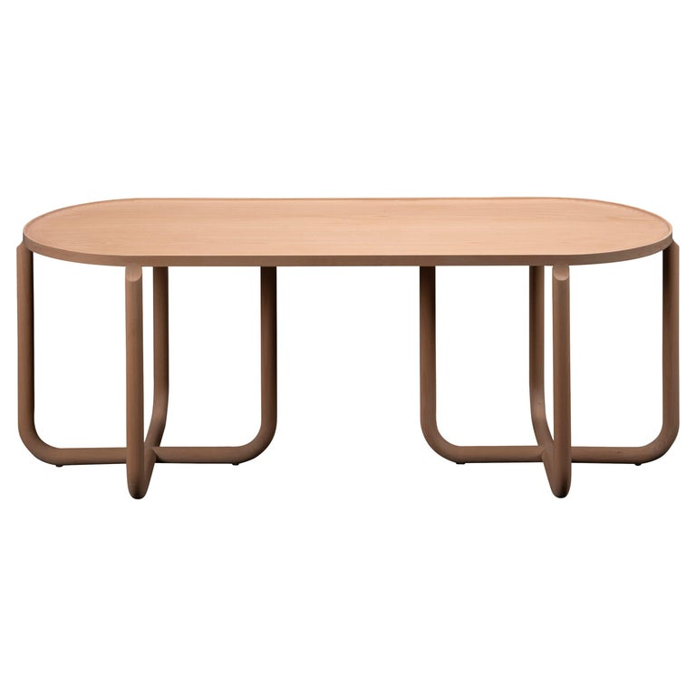 Verso Coffee Table, Beechwood For Sale