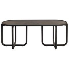 Verso Coffee Table, Black Oakwood