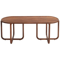Verso Coffee Table, Tzalam Wood