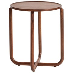 Verso Side Table, Tzalam Wood