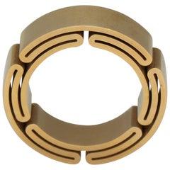 Verstraeten Troisième Passage Gold Band Ring