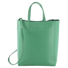 Vertical Cabas Tote Grained Calfskin Small