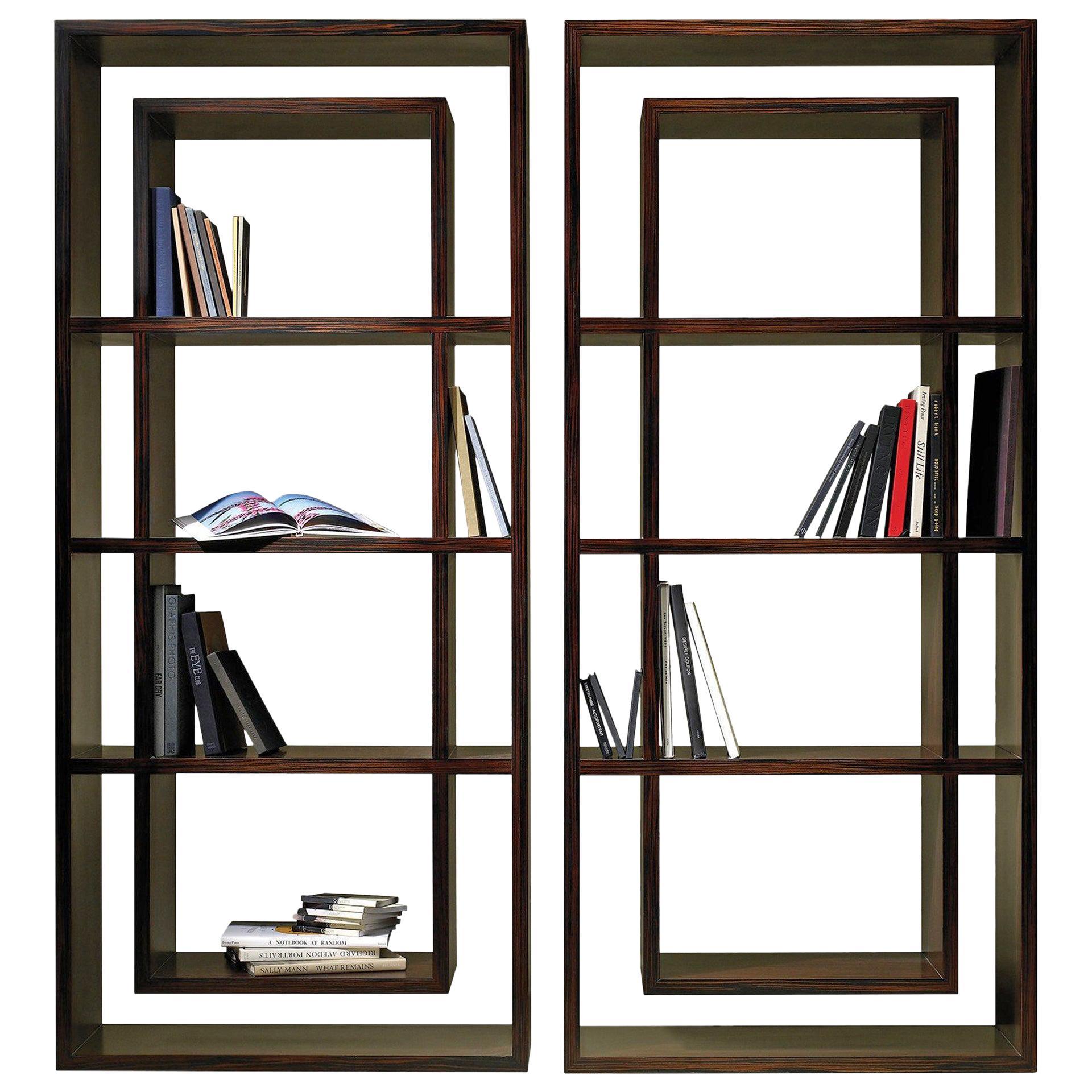 Vertical Contemporary Bookcase by Luísa Peixoto