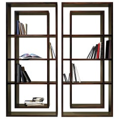 Vertical Contemporary Bookcase by Luísa Peixoto
