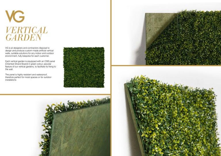 Vertical Garden Kalalau Wall Artificial Greenery Indoor Use