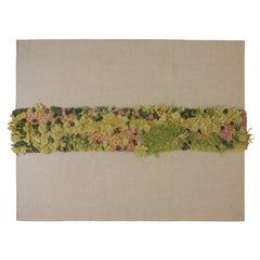 Vertical Garden Rug by Nuala Goodman