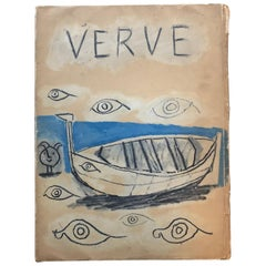 Verve Magazine #19 and 20, 1948, Pablo Picasso Issue, Couleur de Picasso