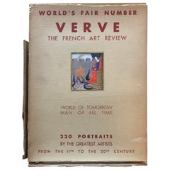 """""""Verve: The French Review of Art"""", No's 5-6: 1939 the World's Fair Review"""