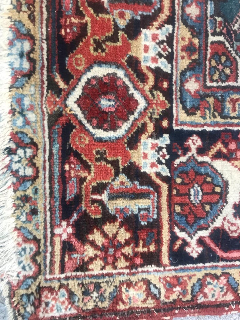 Very Beautiful Antique Heriz Rug For Sale 2