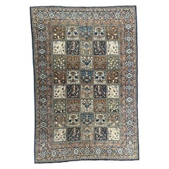 Very Beautiful Fine Large Ghoum Style Vintage Rug