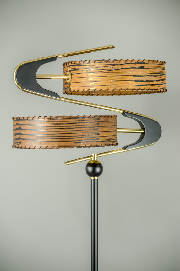 Very beautiful floor lamp, Italy, 1950s