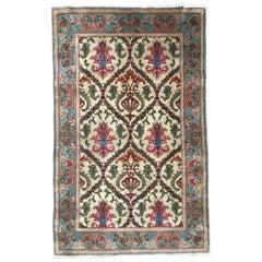 Very Beautiful Vintage Decorative Transylvanian Rug