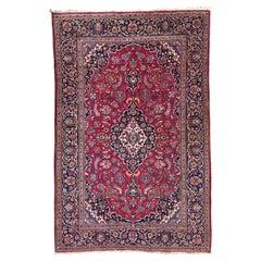 Very Beautiful Vintage Kashan Rug