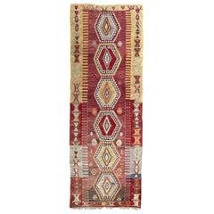 Very Beautiful Vintage Turkish Kilim