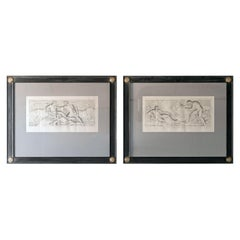 Very Chic Set of Large Engravings After Nicolas Poussin