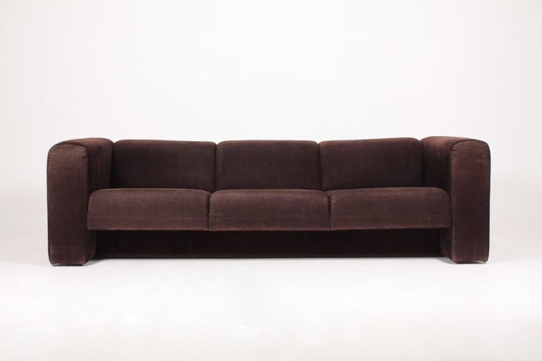Very comfortable sofa in corduroy, designed and made in Denmark. Original condition.