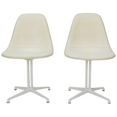 Very Early Eames Herman Miller Side Chair with La Fonda Base